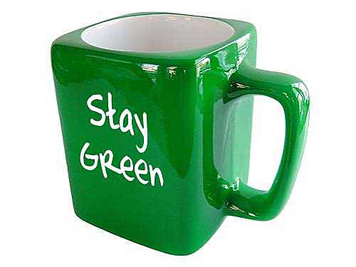 Stay Green Coffee Cup