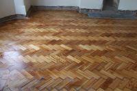 Pitch Pine Herringbone Parquet Wood Block Flooring ...