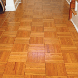 Step by Step Sanding  Finishing Parquet Wood Flooring