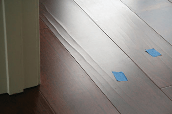 face-checking in veneer floors