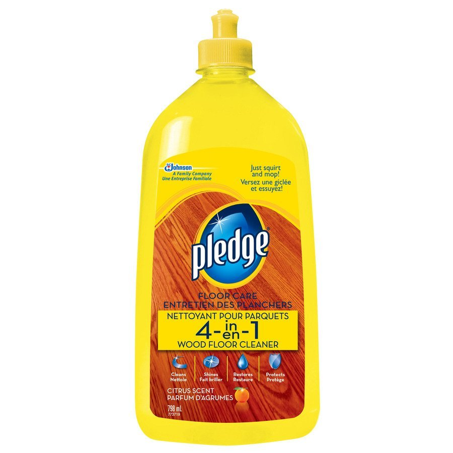 Cleaning Wood Floors With Pledge Wood Floor Products