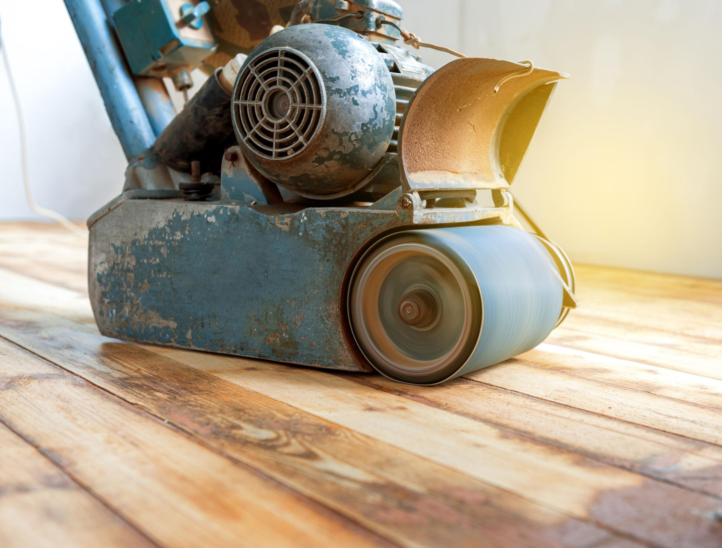 Choosing A Sanding Machine For Wood Floors