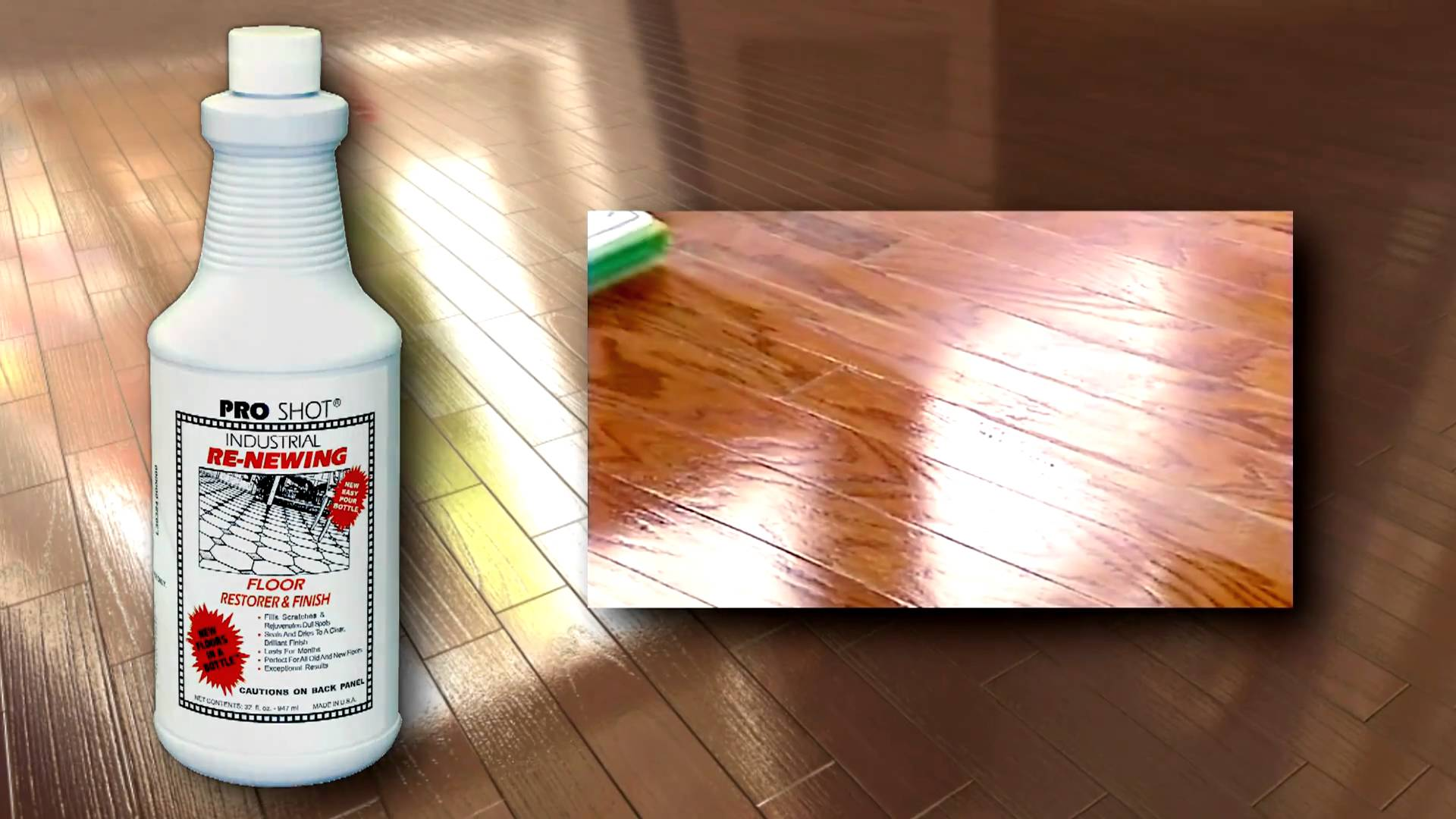 Attractive Pro Shot Is The Professional Choice For Quick And Easy Floor Shine Restoring.  The Product Comes In Three Sizes, But For The Average Homeowner Either The  ...