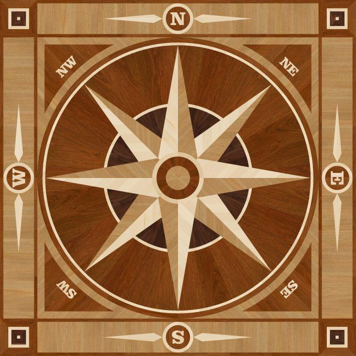 Decorative Hardwood Floors Medallions Borders Amp Trim And