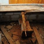 33290119 – reconstruction of the severely damaged floor on rural cottage