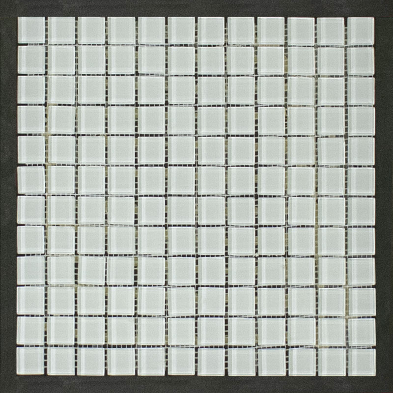 clearance mosaic tile winter white is10 11ms1p 1x1 1 sf piece