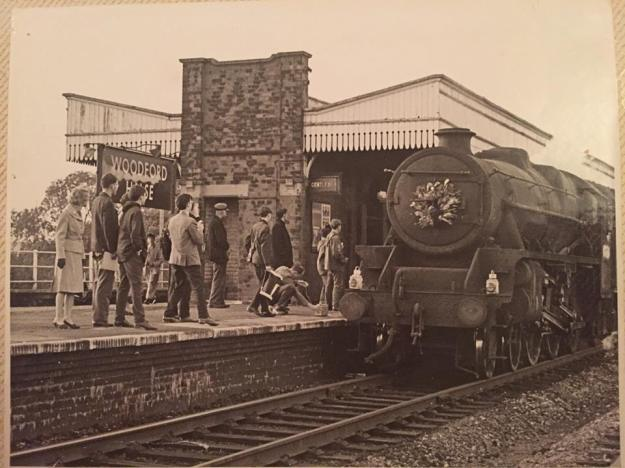 Last passenger train to London, Marylebone,  3/9/66. Locomotive 44984, ex-LMS 'Black 5' (Photo: Taryna Adkins)