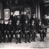 Woodford Station Staff in 1901