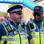 Police on duty at the 2019 Regatta