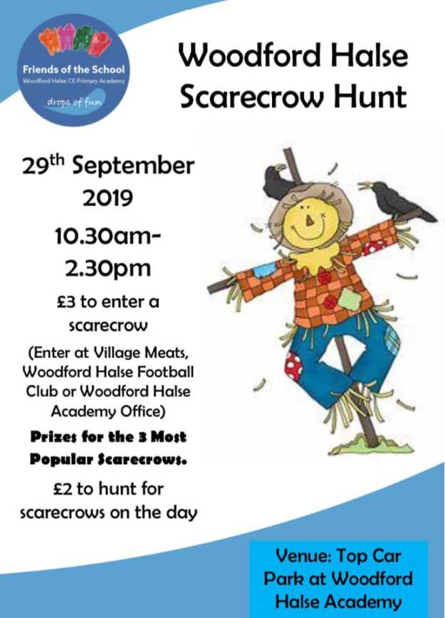 scarecrow hunt 2019 poster
