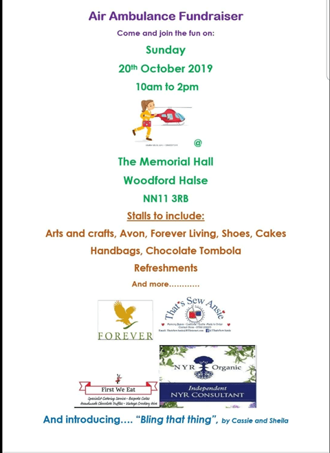 air ambulance event poster