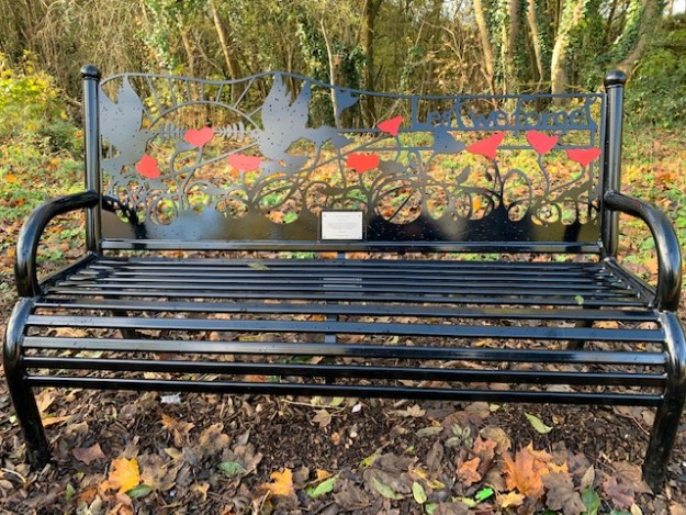 Armed Forces Memorial Bench