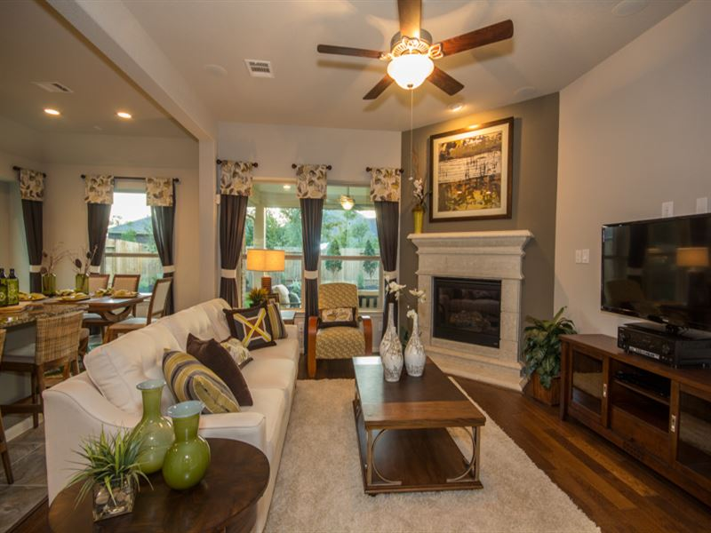 Ryland Model Home  Woodforest in Montgomery County TX