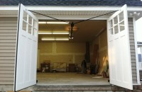 automatic swing out garage doors | Garage & Carriage style ...