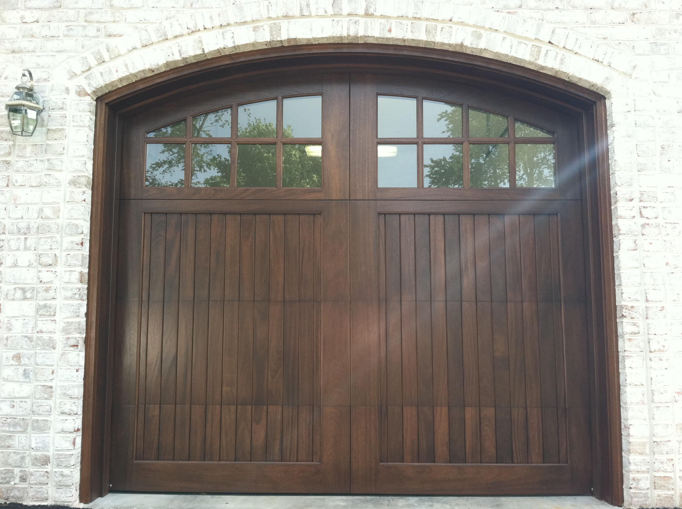 Wood Garage Doors and Carriage Doors  Clearville