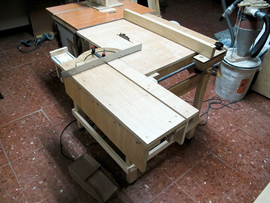 Diy Sliding Table Saw Attachment