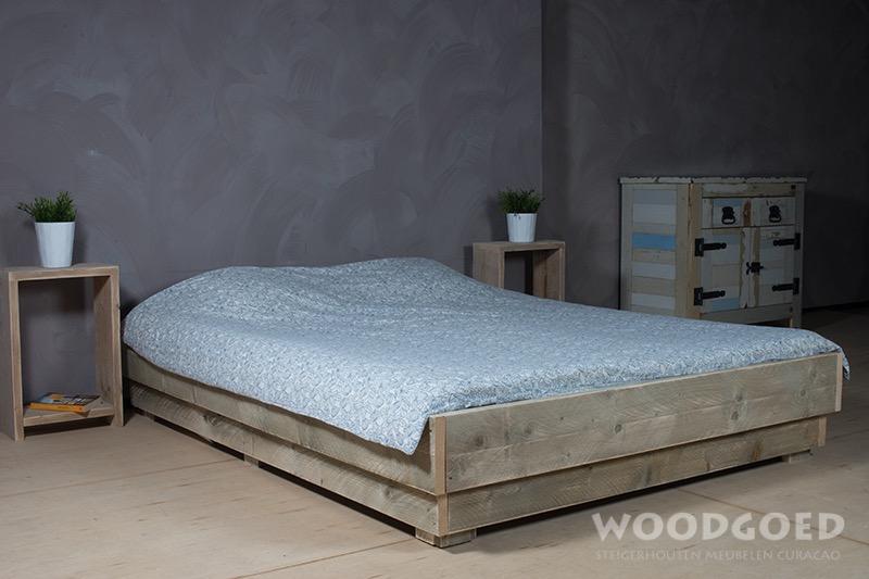 Steigerhouten meubelen Curacao  Bed Strea vanaf Naf 729