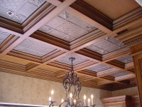 Coffered Ceilings, Wood Suspended Drop Ceiling Systems