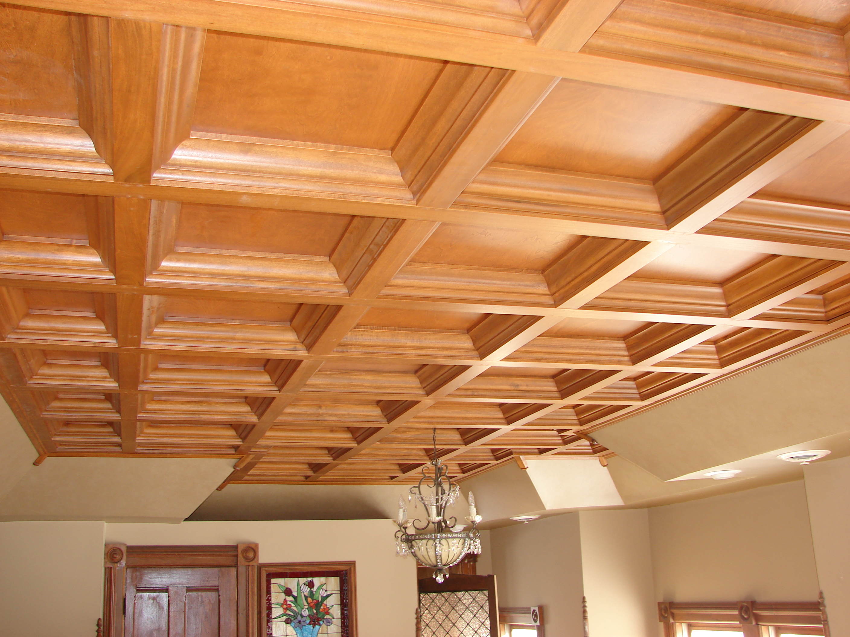 WoodGrid Coffered Ceilings by Midwestern Wood Products Co