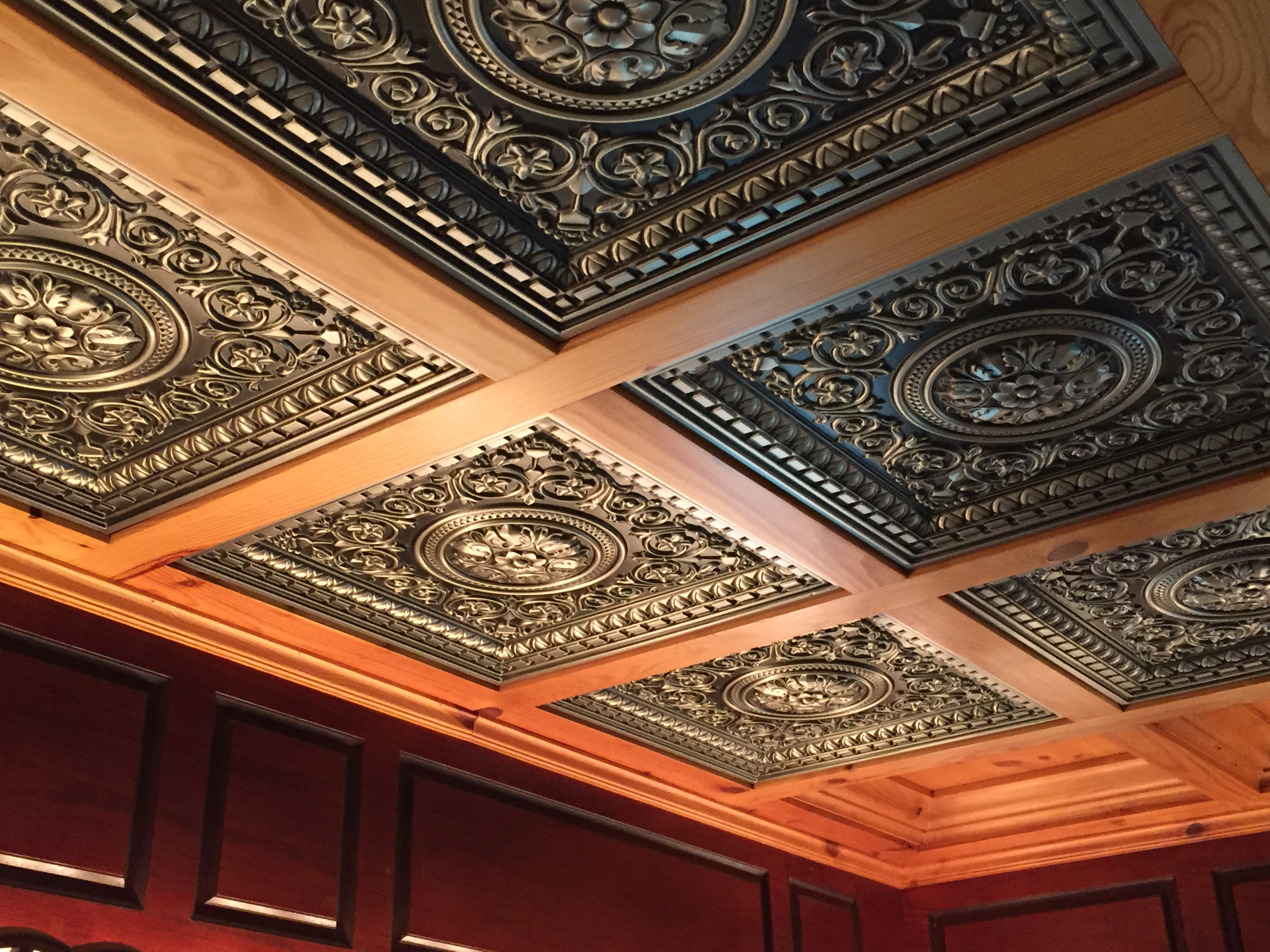 coffered ceilings by midwestern wood