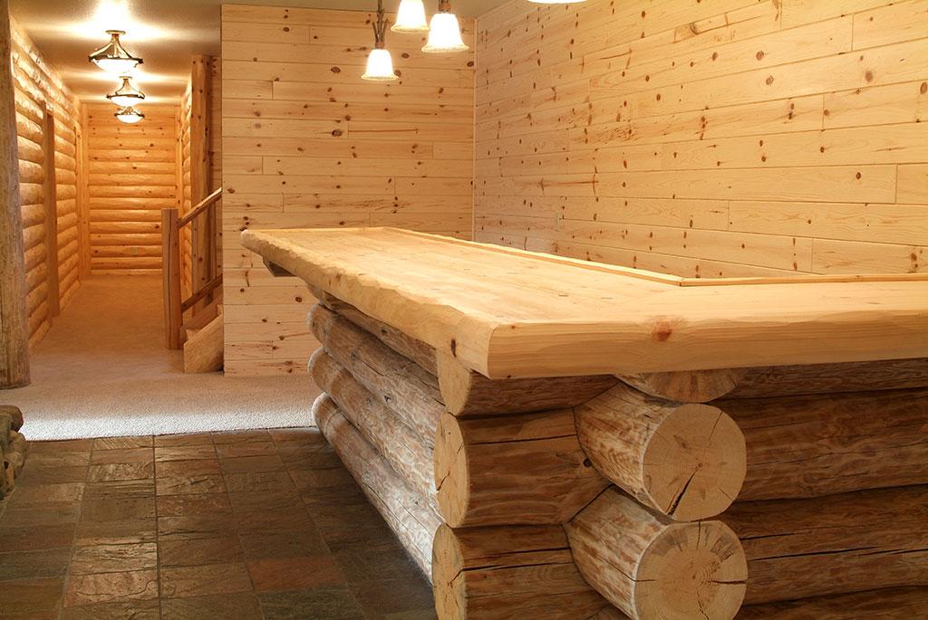 Rose City Home  WoodHaven Log  Lumber