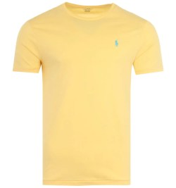 Polo Ralph Lauren Classic Custom Slim Fit T-Shirt - Yellow