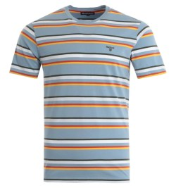 Barbour River T-Shirt - Powder Blue