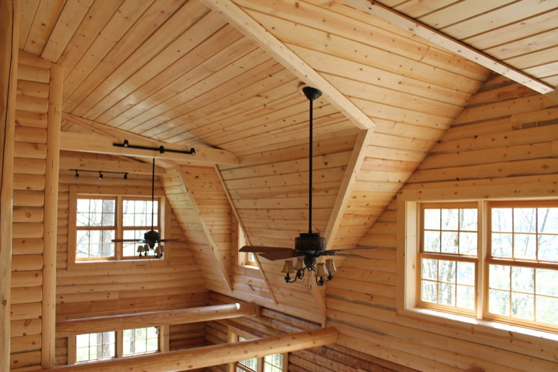 Swedish Cope Log Homes  Wood House Log Homes LLC