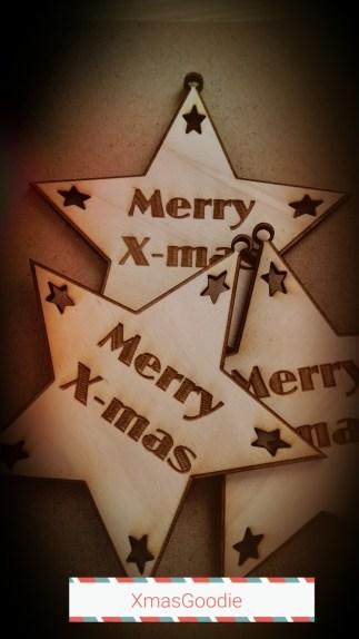 Xmas-Goodie star shape