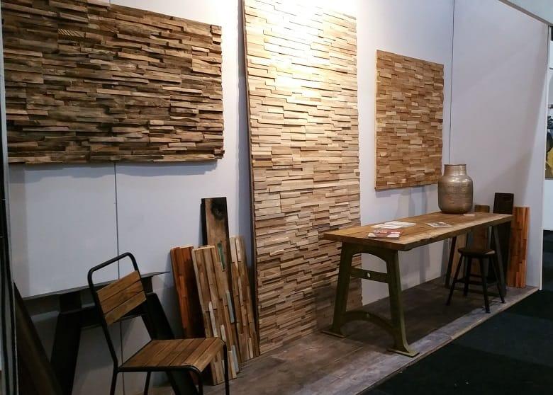 Houtstrips Rainforest White  Woodindustries