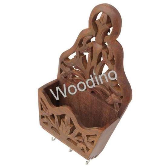 Woodino Angoori Wooden Wall Latter Rack