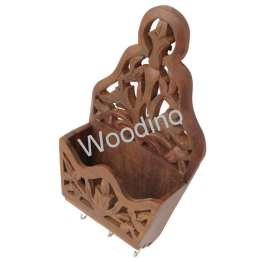 Woodino Angoori Wooden Wall Latter Rack