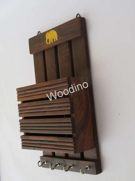Woodino Cutter Elephant Wall Latter Rack
