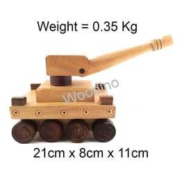 Woodino Haldu Wood Fighting Tank Model Toy