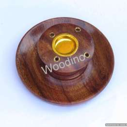 Woodino Wooden Incense Holder Plate