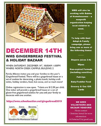 Gingerbread Festival information