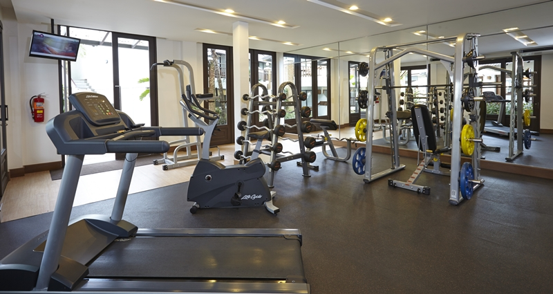 Woodlands Hotel & Resort : Fitness Room