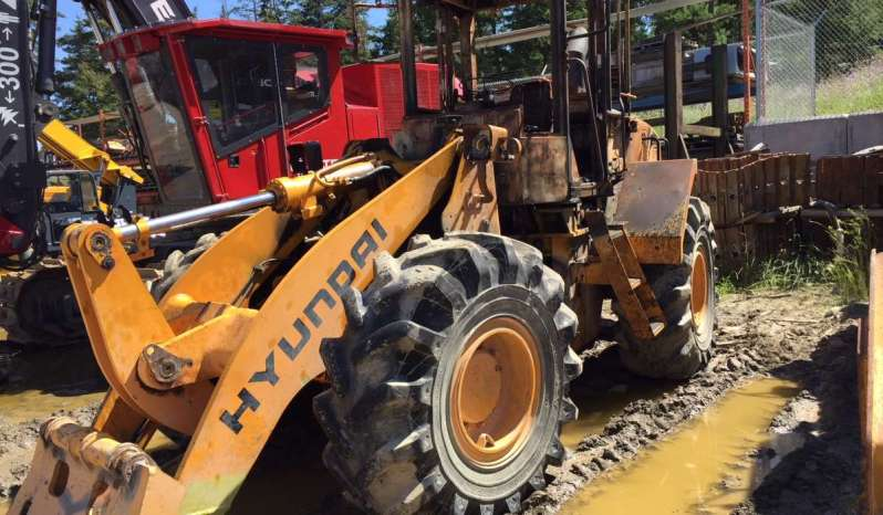 Hyundai HL740XTD-7 for Salvage full