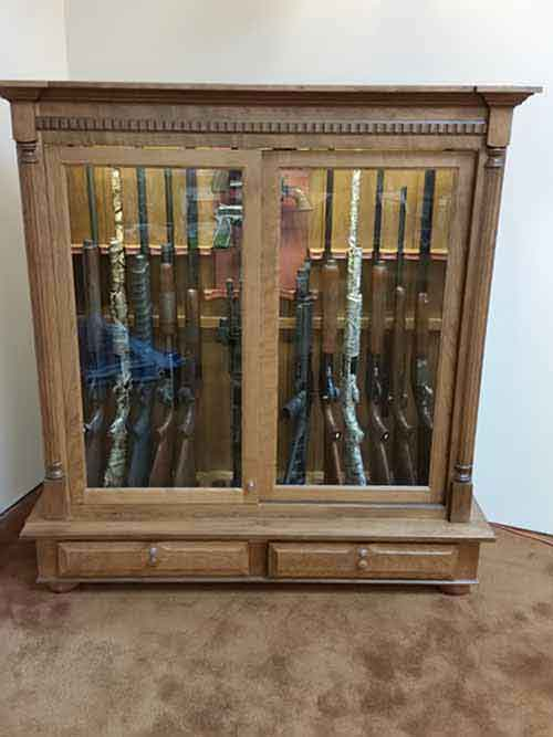 Arthur Amish Custom Crafted Gun Cabinets