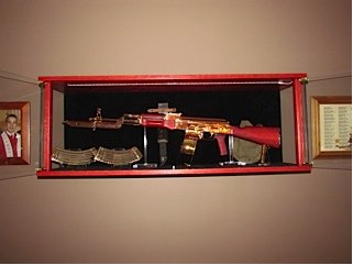 Woodloftcom  Arthur Amish Custom Crafted Gun Cabinets