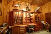 wooden gun cabinets plans | woodproject
