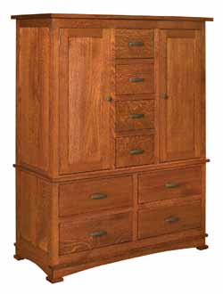 The Wood Loft  Amish Custom Hand Crafted Armoire