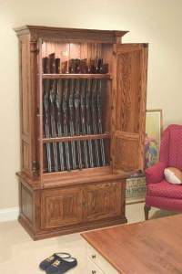 Lote Wood: Coffee table hidden gun cabinet plans