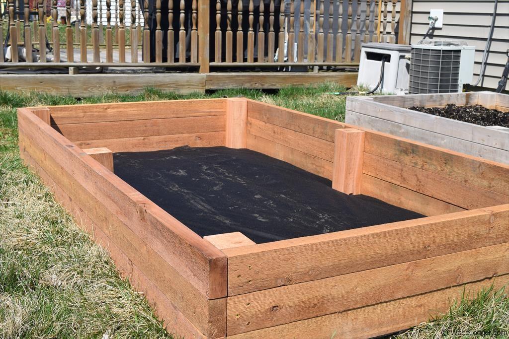 S Raised Garden Bed