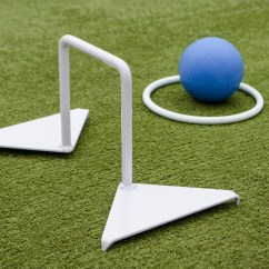 Diagram Of 6 Wicket Croquet 4 Wire Trailer Light Astro Hoops Set Plus Finishing Ring Wood Mallets