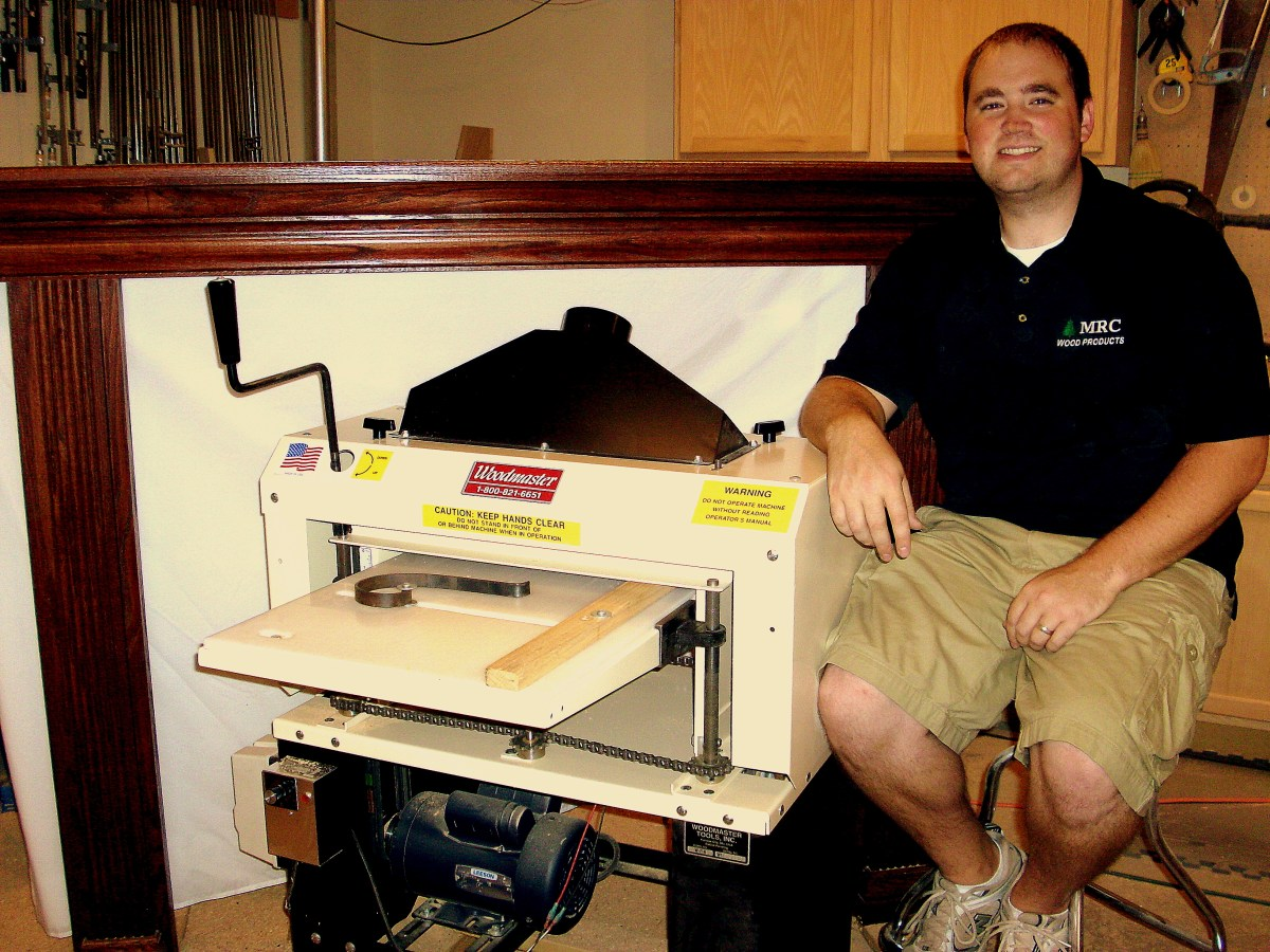 Mike Crowder made $96,000 with his Woodmaster during what many call the worst economic times since the Great Depression. If Mike can, you can, too.