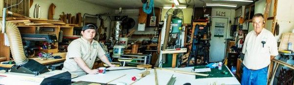 Dave (right) and Colby are ready to grow Dave's Custom Molding business — and it's happening right before their eyes.