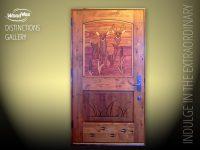 Crossbuck Entry Door & Awesome Dutch Door Exterior On 6009 ...