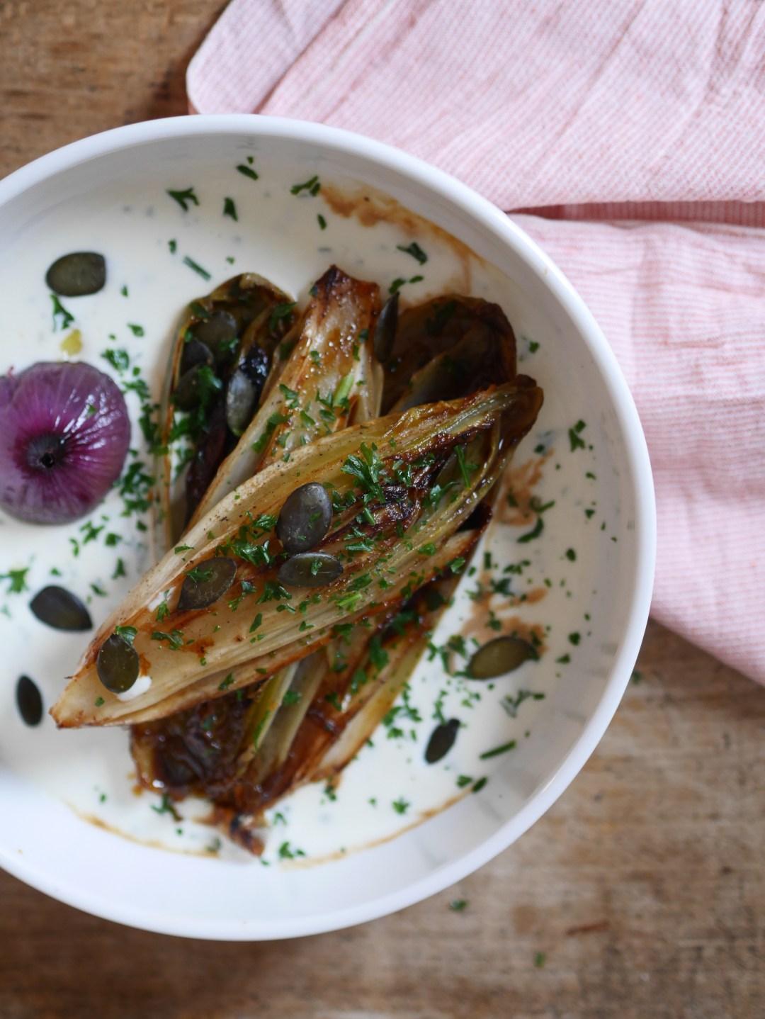 recette-rapide-endives-braisées-crème-chèvre-frais-food-blog-strasbourg-1