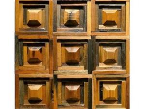 vintage mosaic tiles, Vintage 3D Tiles , interior design tiles, vintage 3d mosaic tiles, Decorative Tiles, Wood Tiles, Vintage Wall Decor, Rustic Wood Decor, Interior Design Idea